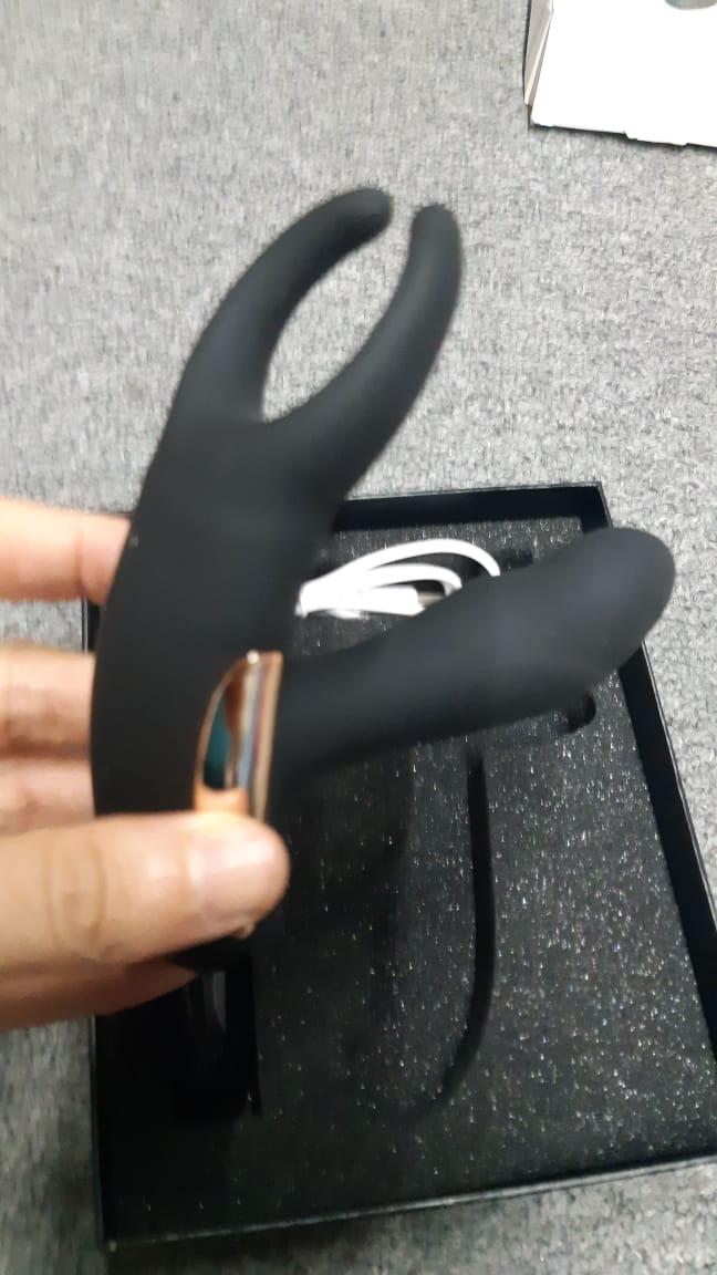 masajeador de prostata mariposa negro acontrol remoto