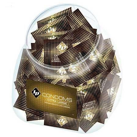 Preservativos ID extra largos