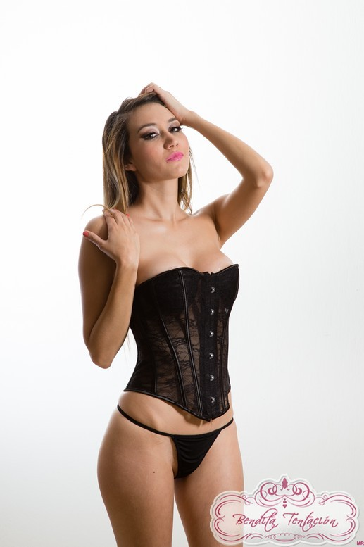 2pz sexy corsete de encaje (disponilble en ch, m, g)