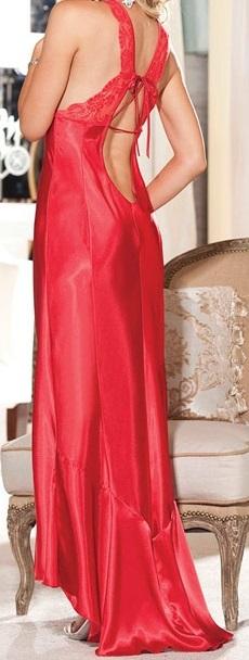 vestido de satin unitalla