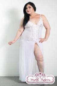 2pz vestido largo futura novia XL
