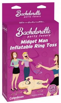 MIDGET MAN INFLATABLE RING TOSS