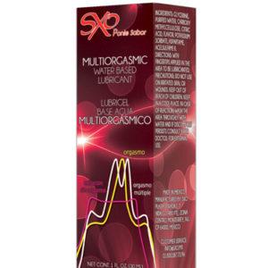 MULTIORGASMICO BASE AGUA 30ml