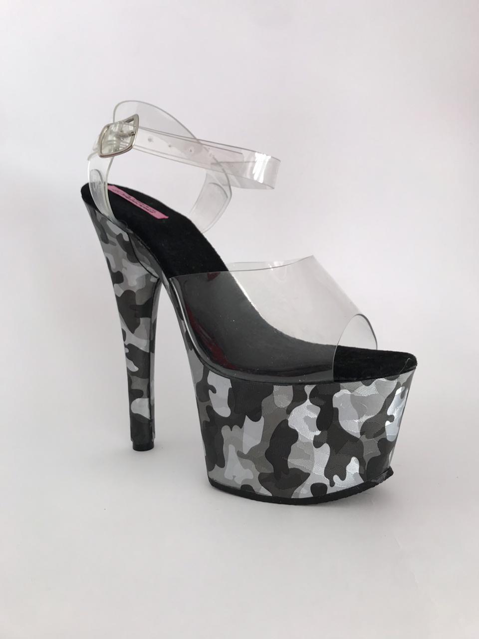 Zapato camuflaje, plataforma No.3
