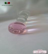 Dildo de cristal en forma de rosa